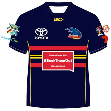 Brad Crouch – Crows T20 Showdown Shirt
