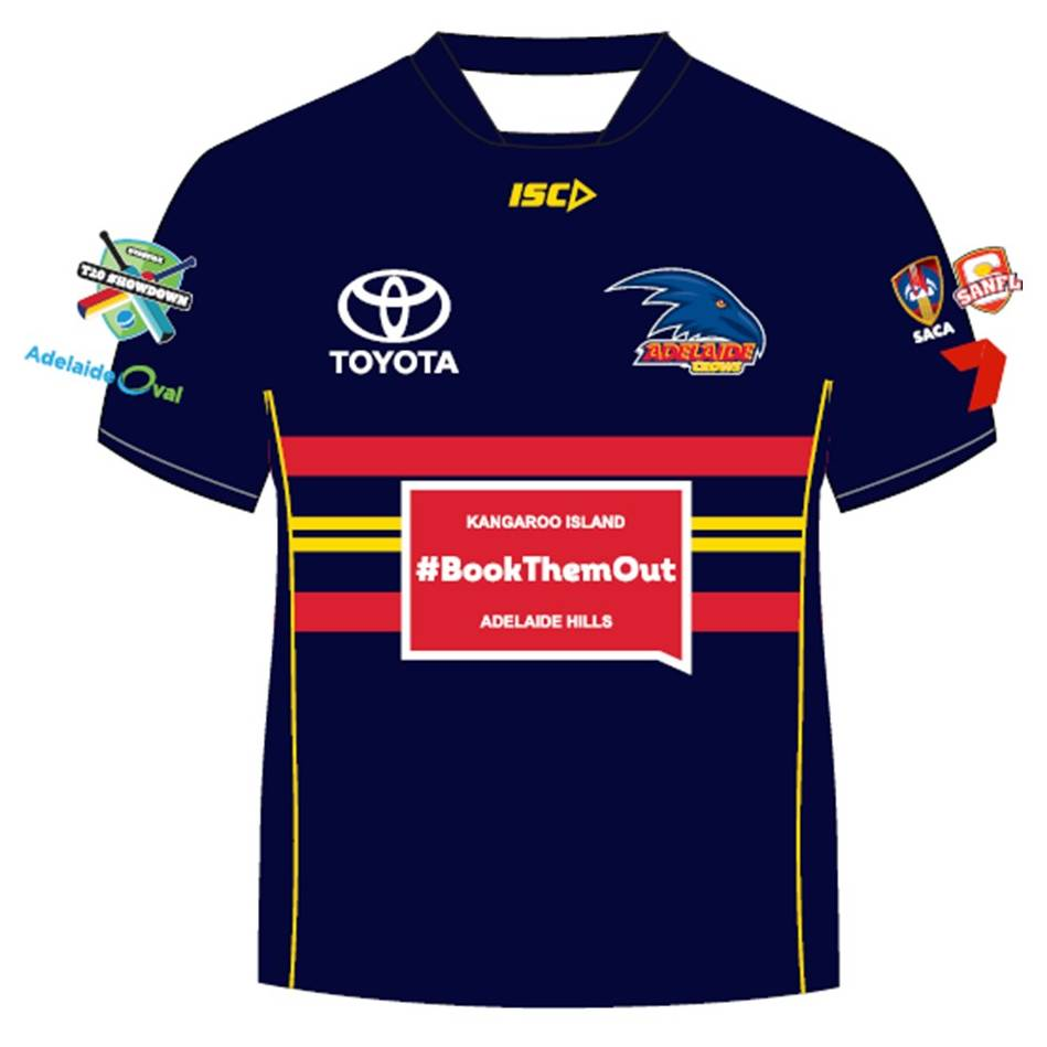 "mainCoach Darren ""Boof"" Lehmann – Crows T20 Showdown Shirt0"