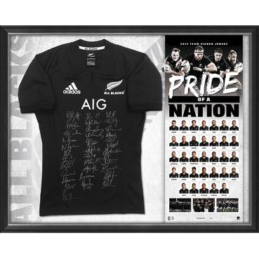 ALL BLACKS SIGNED 'PRIDE OF A NATION'