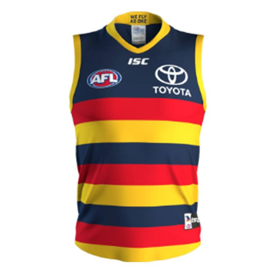 mainCrows T20 Squad Signed Adelaide 2020 Home Guernsey0