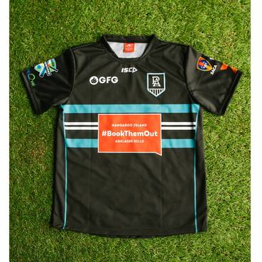 "Coach Barry ""Nugget"" Rees – PAFC T20 Showdown Shirt"