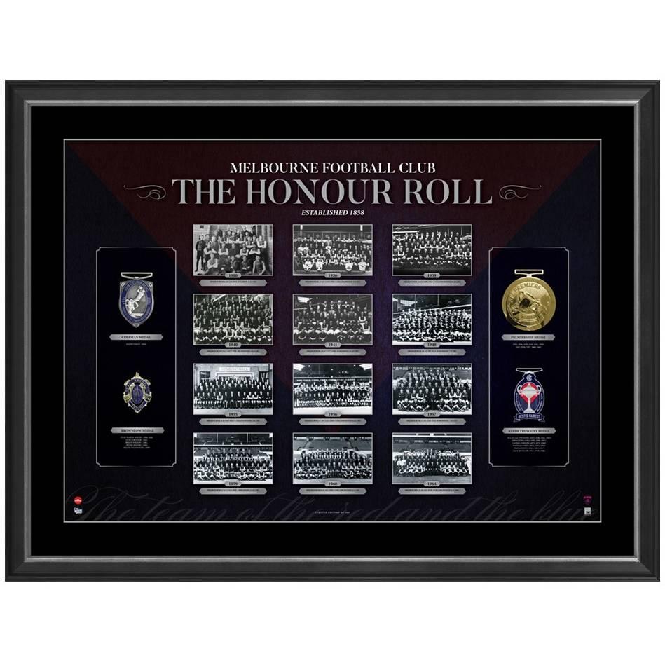 mainMELBOURNE FOOTBALL CLUB 'THE HONOUR ROLL'0