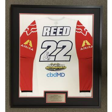 Chad Reed Signed 2020 Race-Worn Jersey