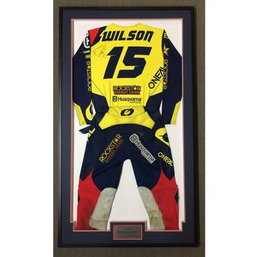 Dean Wilson Signed 2020 Race-Worn Jersey