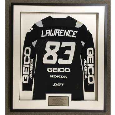 Jet Lawrence Signed 2020 Race-Worn Jersey