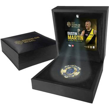 DUSTIN MARTIN BROWNLOW MEDAL DISPLAY
