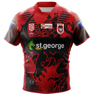 Matt Dufty 2020 Signed Match-Worn SGID Nines Jersey