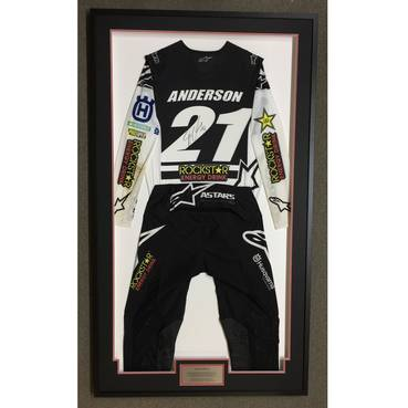 Jason Anderson Signed 2020 Race-Worn Jersey