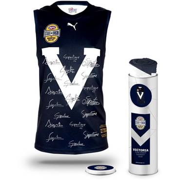 Big V State of Origin 2020 Team Signed Guernsey