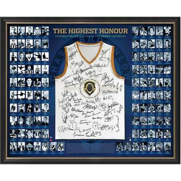 BROWNLOW HISTORY SIGNED 'THE HIGHEST HONOUR'