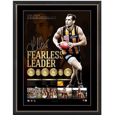 LUKE HODGE SIGNED 'FEARLESS LEADER'