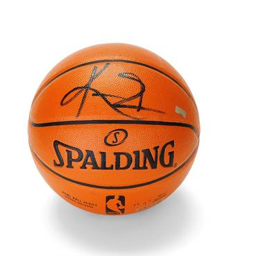 Kyrie Irving Signed Basketball
