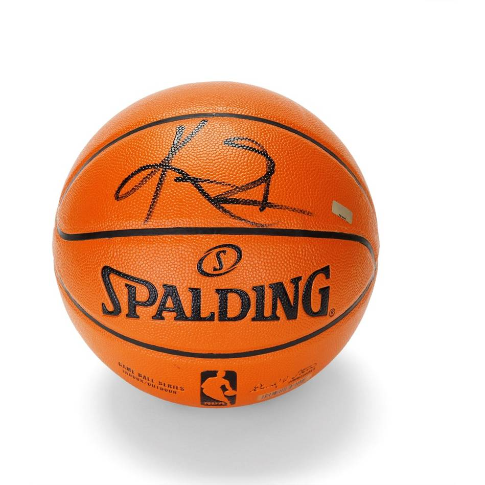 mainKyrie Irving Signed Basketball0