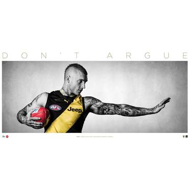 Dustin Martin 'Don't Argue' Print