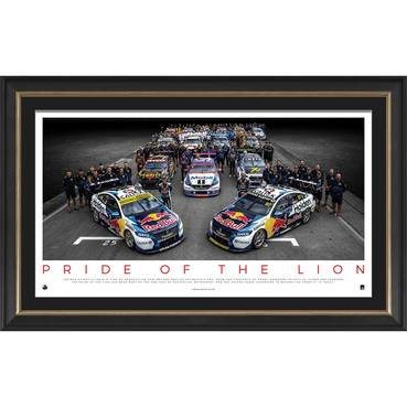 Holden 'Pride of the Lion' Framed Print