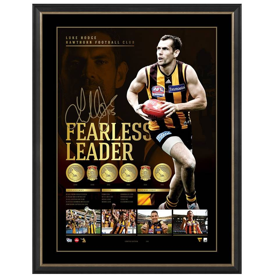 mainEDITION #1 - Luke Hodge Signed Retirement Lithograph0
