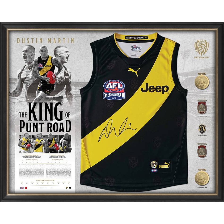 mainEDITION #1 – Dustin Martin Signed Deluxe Guernsey Display0