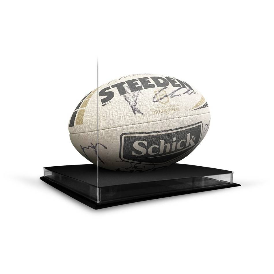 Sydney Roosters 2019 NRL Premiers Team Signed Match-Used Ball