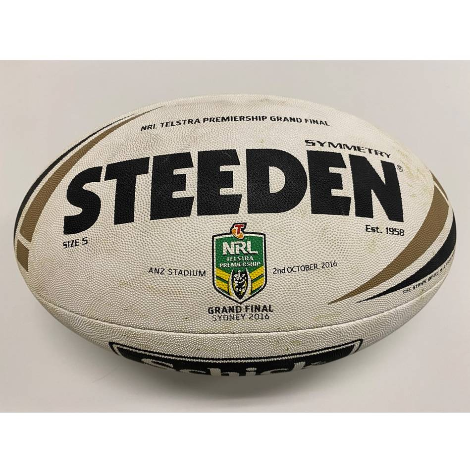 mainCronulla Sharks 2016 NRL Grand Final Match-Used Ball1