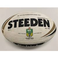 Cronulla Sharks 2016 NRL Grand Final Match-Used Ball1