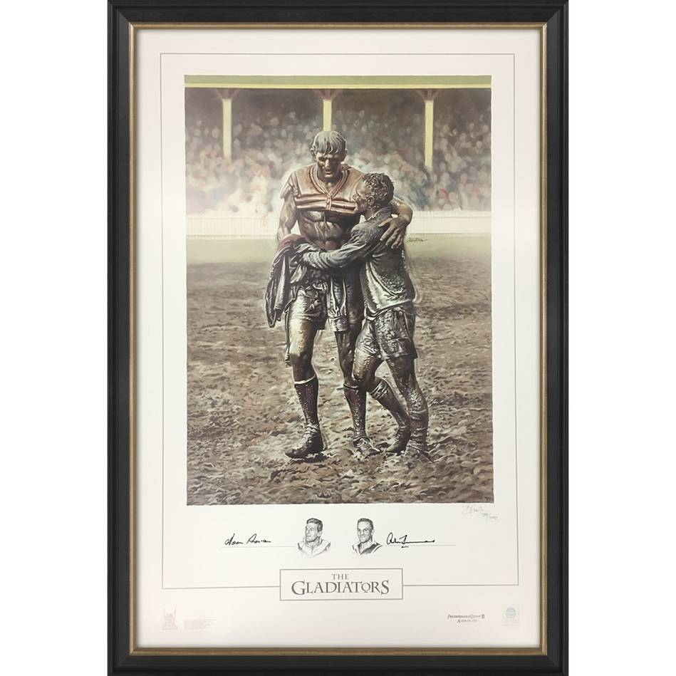 mainNorm Provan and Arthur Summons Signed 'The Gladiators'0