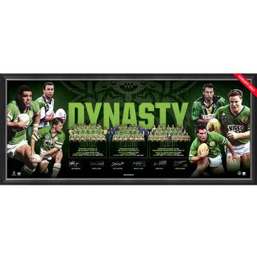 Canberra Raiders Signed 'Dynasty'