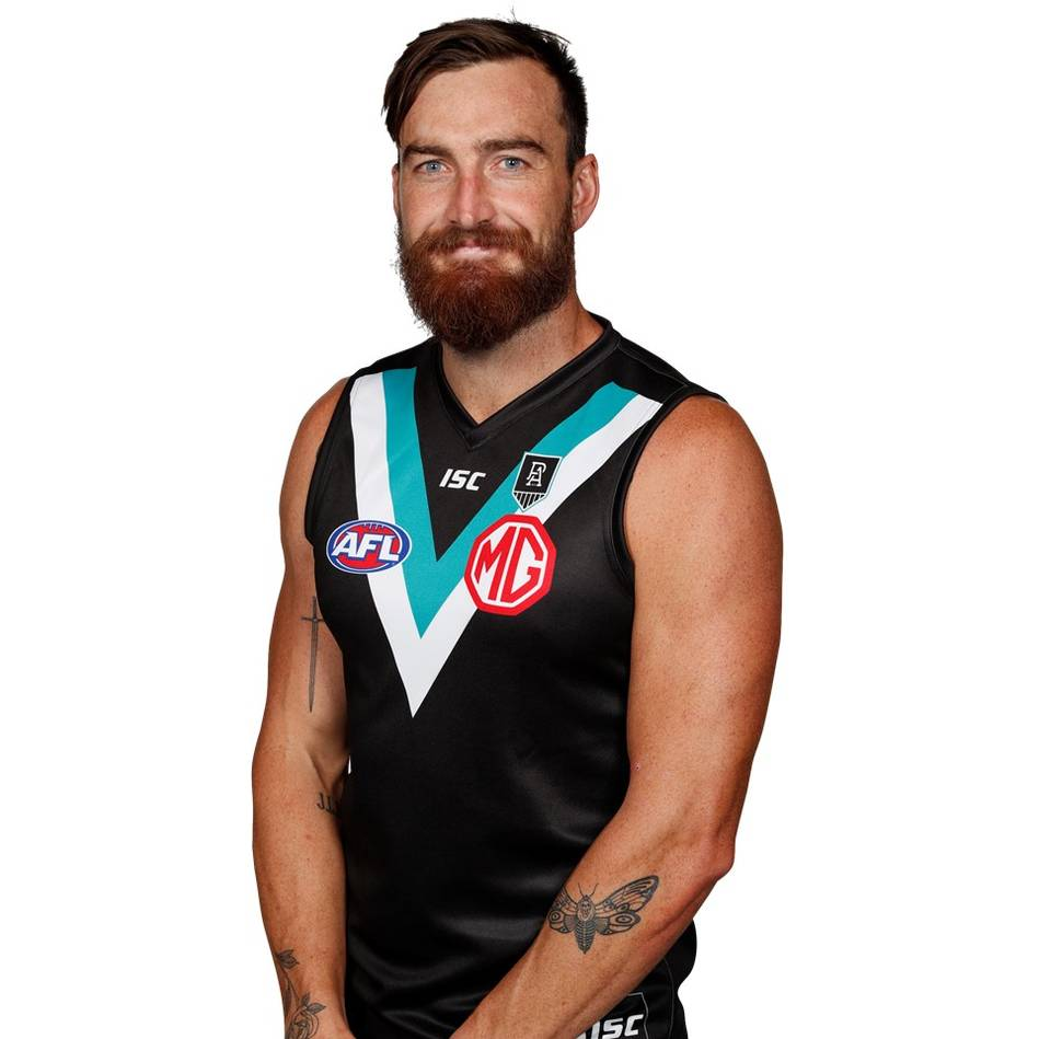 mainCharlie Dixon Signed Showdown Match-Worn Guernsey1