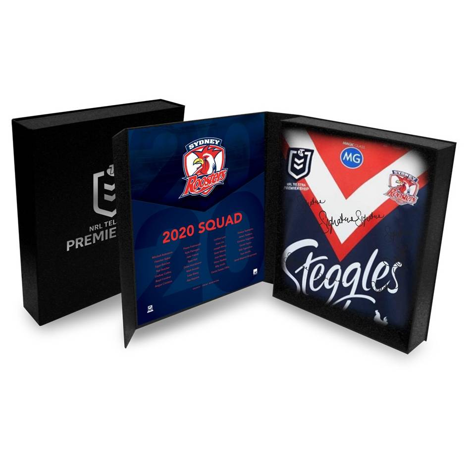 mainSydney Roosters 2020 Squad Signed Jersey0
