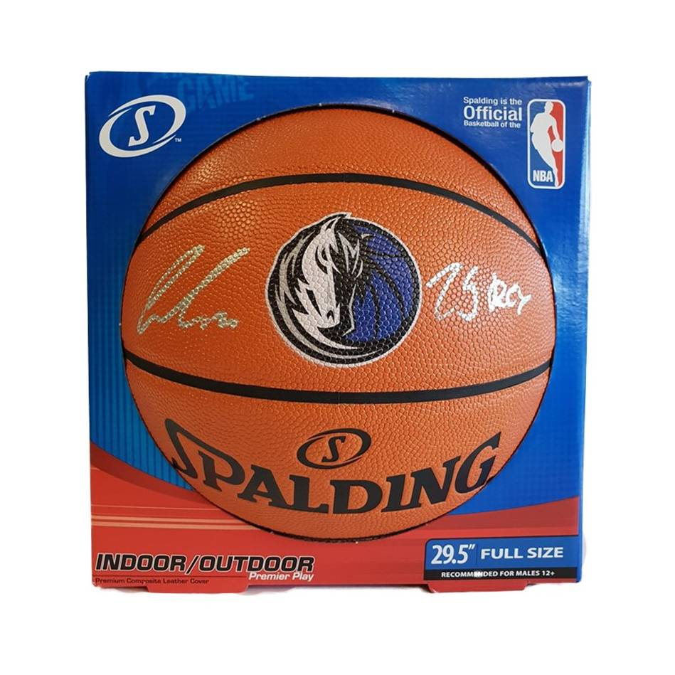 mainLuka Doncic Signed and Inscribed Basketball0