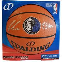Luka Doncic Signed and Inscribed Basketball0