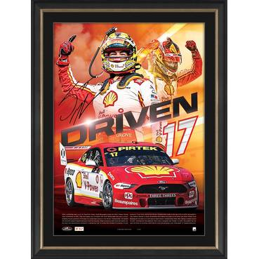 Scott McLaughlin Signed 'Driven'