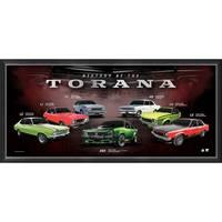 Holden 'History of the Torana' Framed Print0