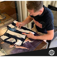 Joel Selwood Signed Captain Courageous Guernsey Display1