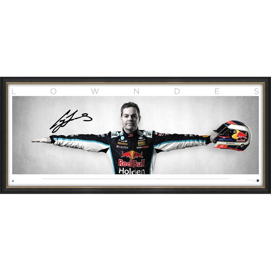 mainCraig Lowndes Signed 'Wings'0
