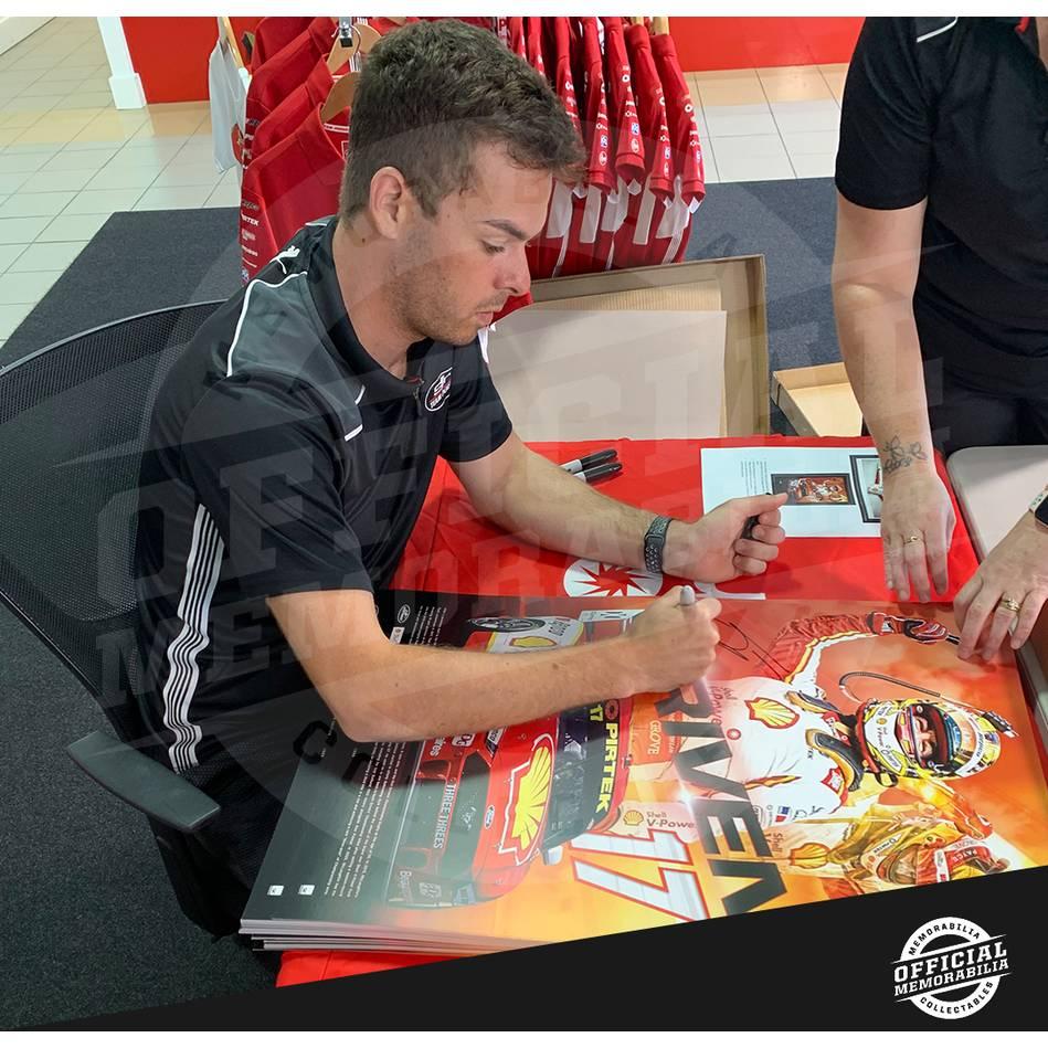 Scott McLaughlin Signed 'Driven'1