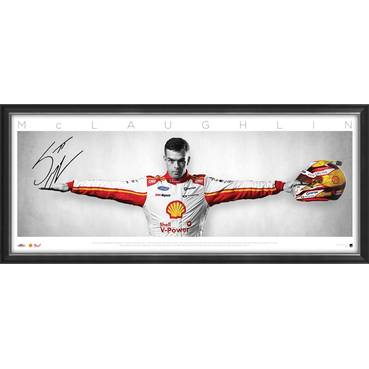 Scott McLaughlin Signed 'Wings'