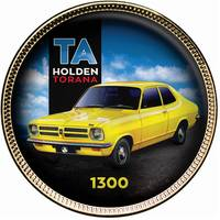 Holden Torana Enamel Penny 9-Coin Collection2