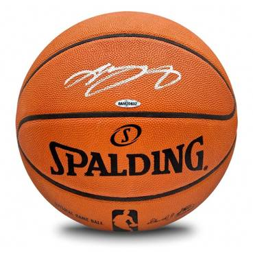 LeBron James Signed Spalding Basketball