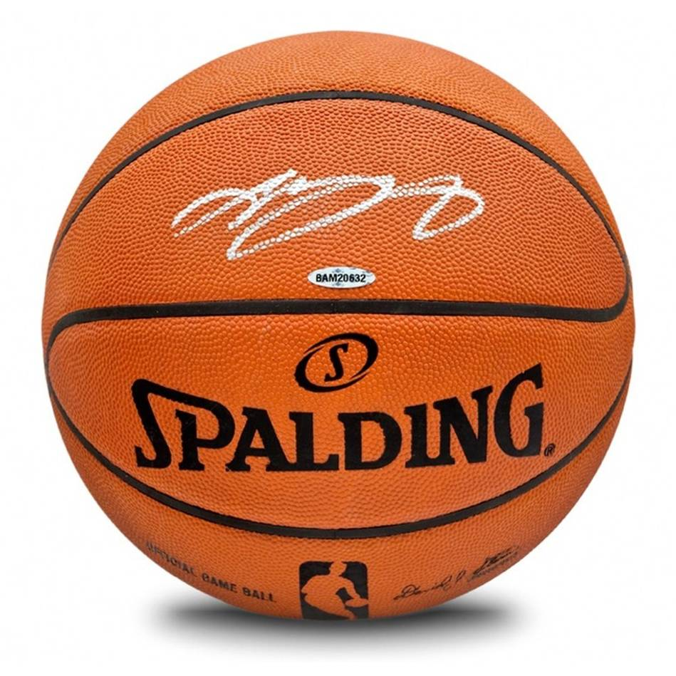 mainLeBron James Signed Spalding Basketball0