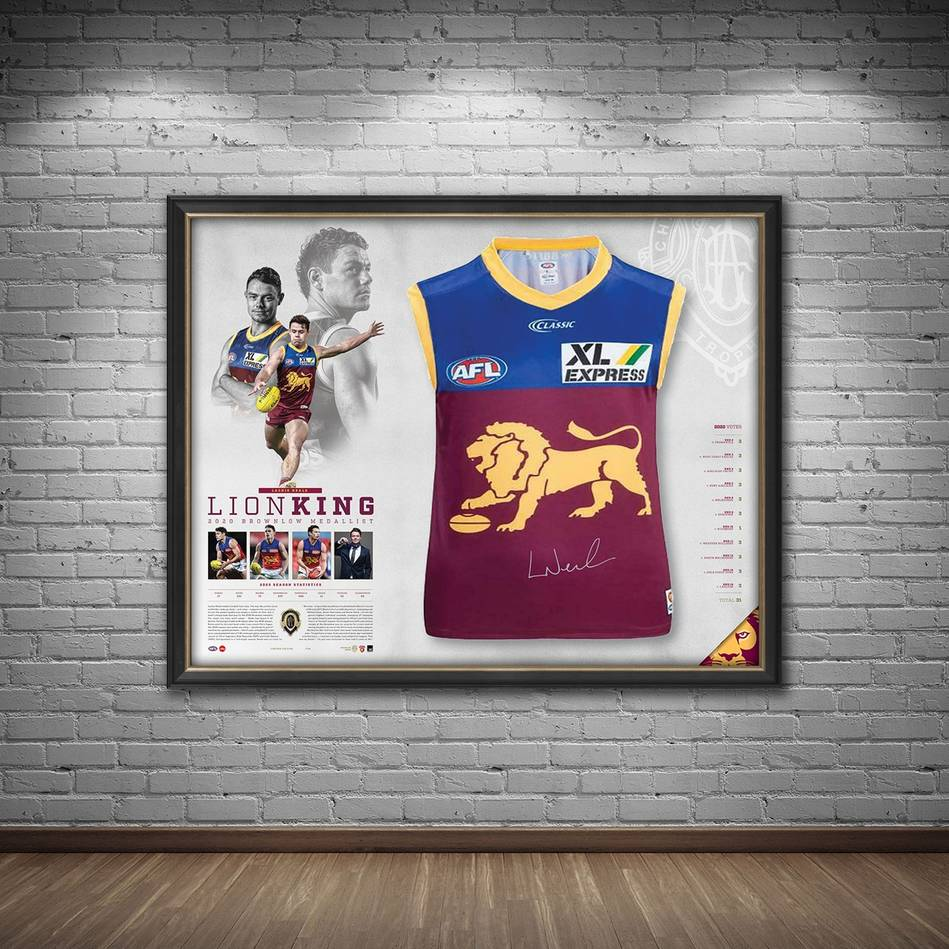 mainLachie Neale 2020 Signed Brownlow Medal Guernsey1