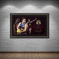 Lachie Neale 2020 Signed Brownlow Medal Lithograph1