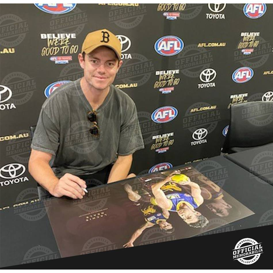 mainLachie Neale 2020 Signed Brownlow Medal Lithograph2