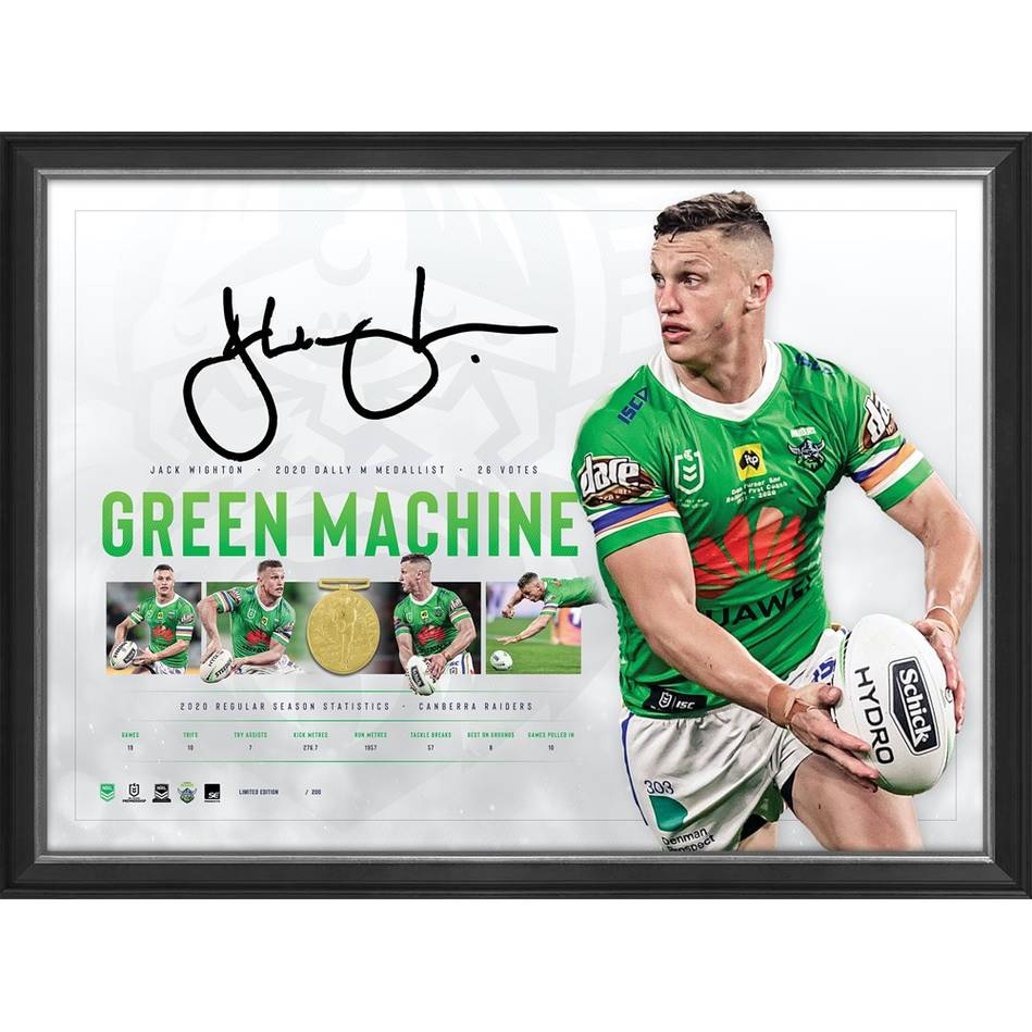 mainJack Wighton Signed 2020 Dally M Lithograph0
