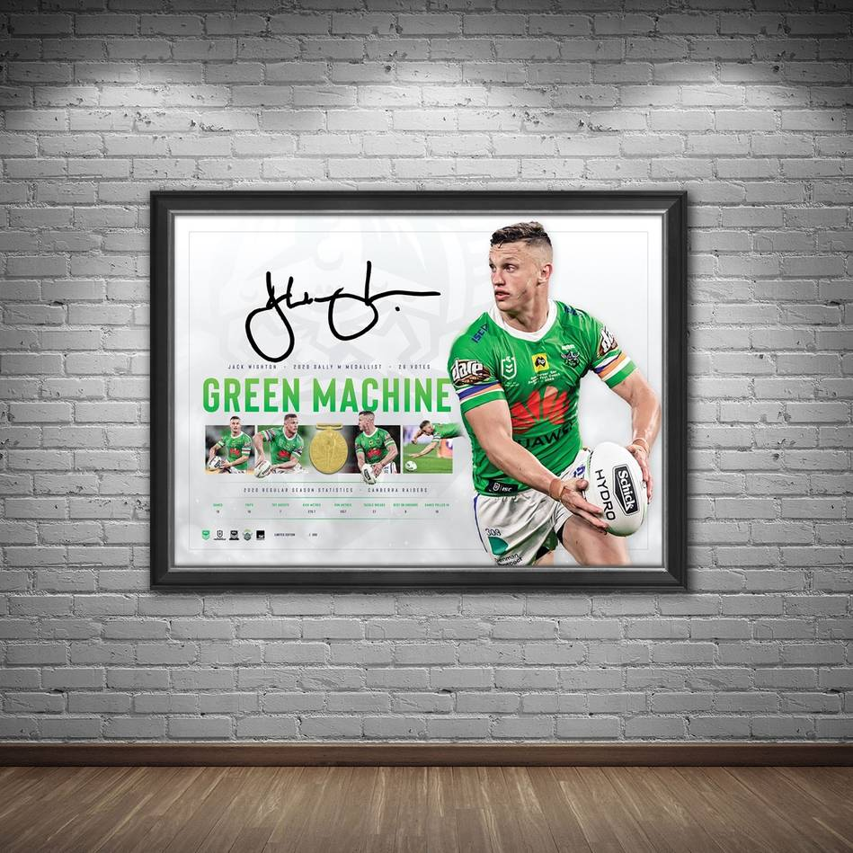 Jack Wighton Signed 2020 Dally M Lithograph1