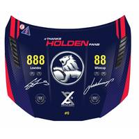 Triple Eight Dual Signed Holden VF Commodore Bonnet0