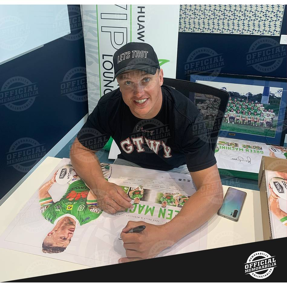 Jack Wighton Signed 2020 Dally M Lithograph2