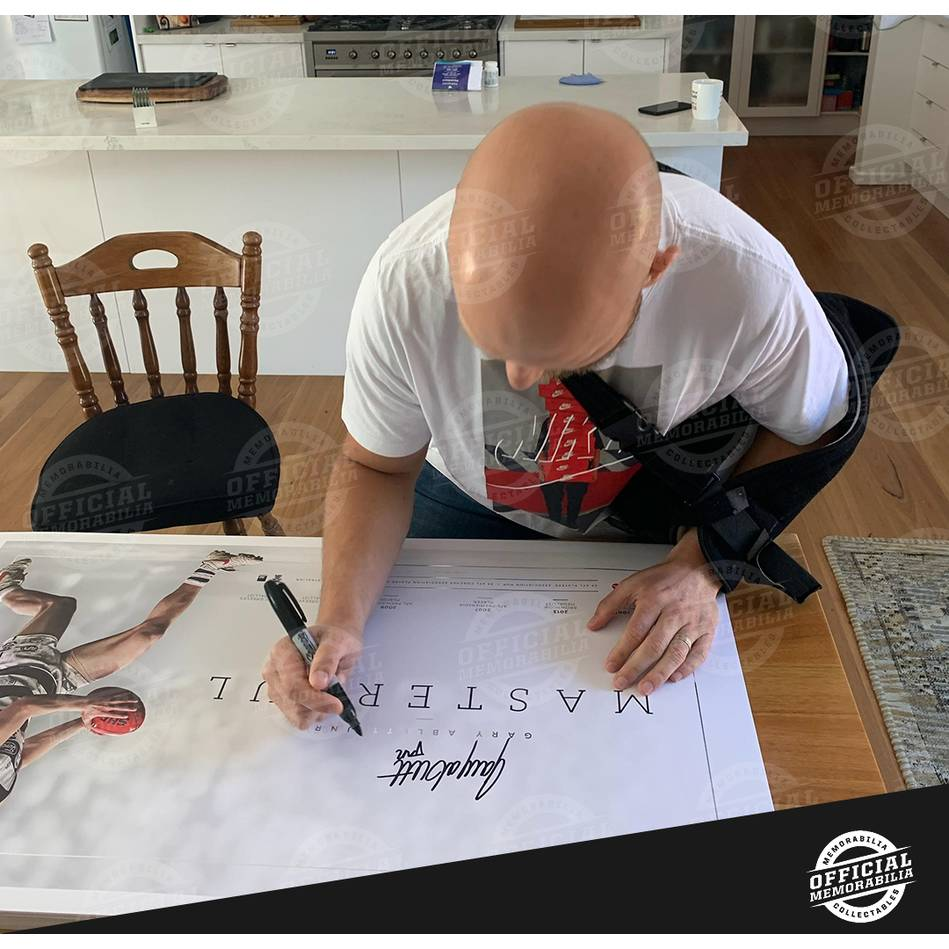mainGary Ablett Jr Signed Career Retrospective Lithograph2