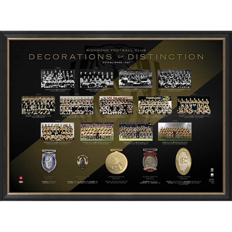 Richmond Football Club Decorations of Distinction0