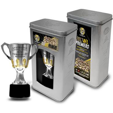 RICHMOND 2017 PREMIERSHIP TROPHY IN COLLECTOR'S TIN