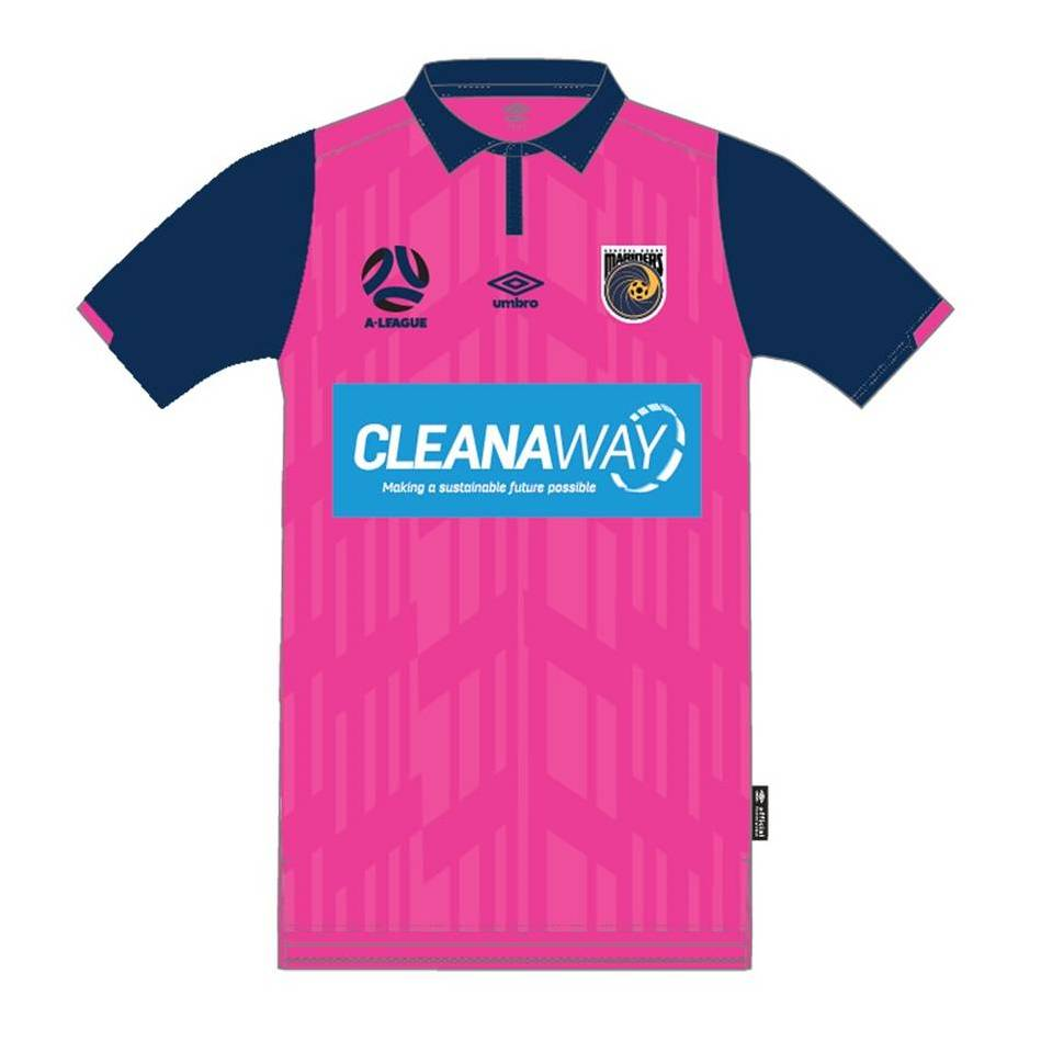 mainMatthew Hatch #25 Central Coast Mariners 2021 Signed Player-Issue Pink Jersey0